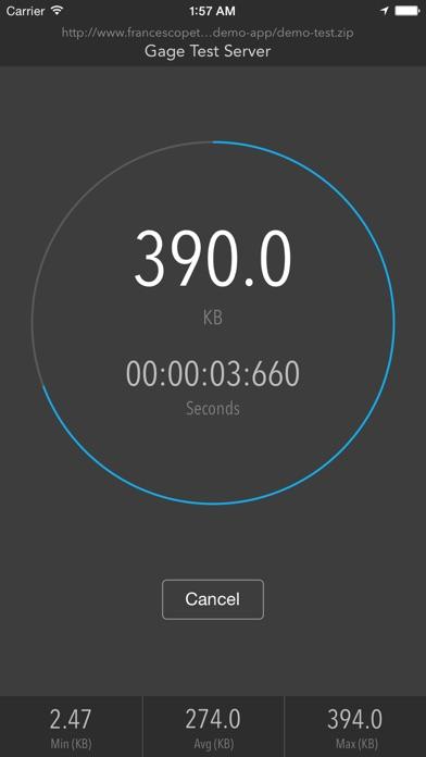 Testa la tua connessione di rete con Gage: Network Speed Test Utility   QuickApp