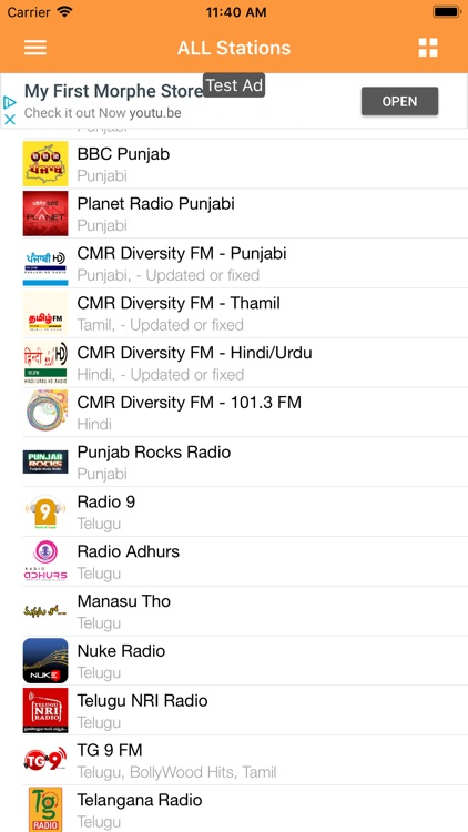 Indian Desi RADIO Music screenshot-2