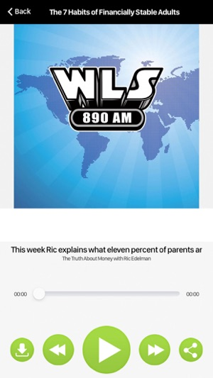 WLS-AM 890 on the App Store