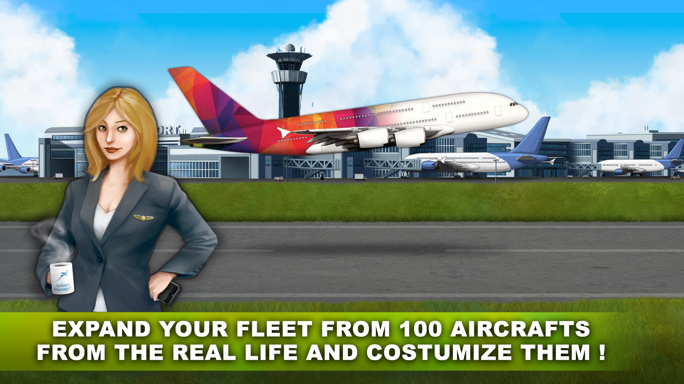 Airlines Manager : Tycoon 2018 Screenshot