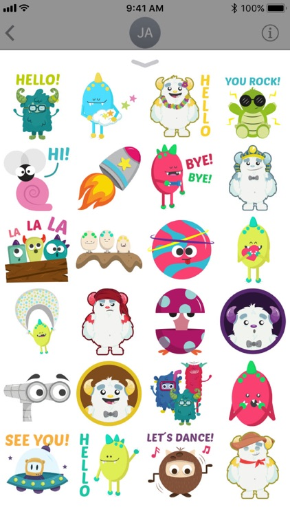 Kuca Boom Stickers