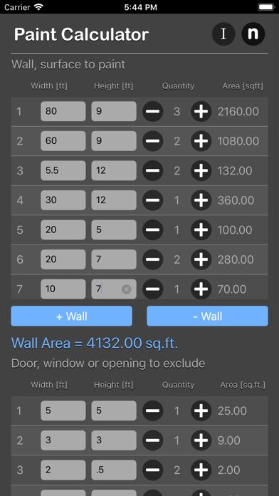 Paint Calculator Plus | App Price Drops