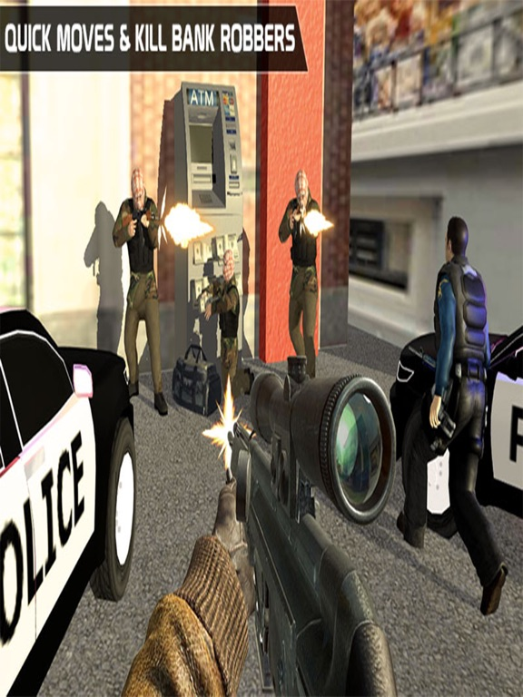 ATM Bank Robbery; Police Squad-ipad-2