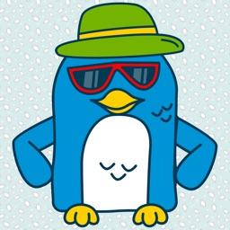 Penguin : Cute Stickers