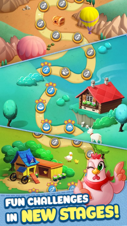 Bubble CoCo - Match 3 Shooter Puzzle screenshot-3