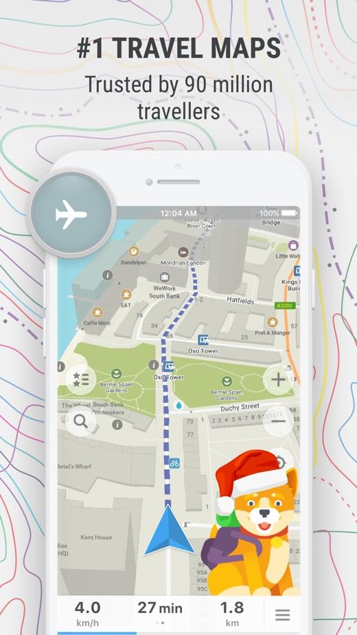 MAPS ME – Offline Map & Nav】版本记录- iOS App版本更新记录 版本号