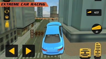 Xtreme City: Car Race Stunts Screenshot on iOS