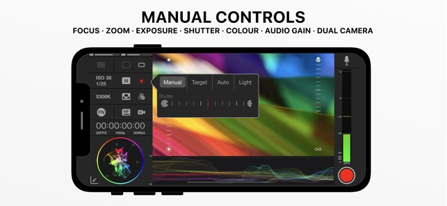 MAVIS – Pro Camera Screenshot