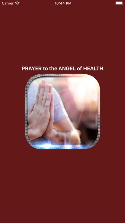 PRAYER To The ANGEL Of HEALTH