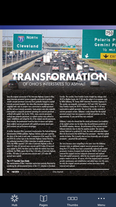 Ohio Asphalt Magazine screenshot two