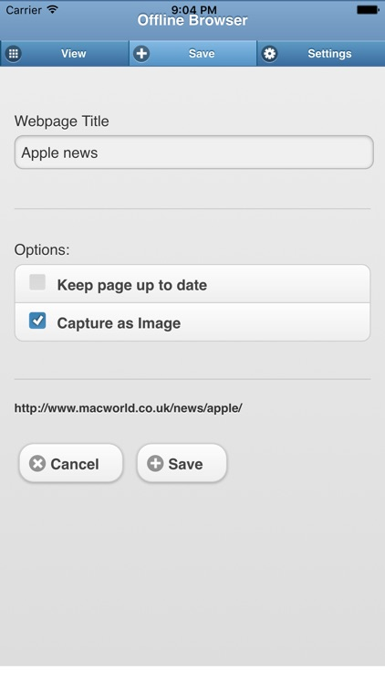 Offline Web Browser