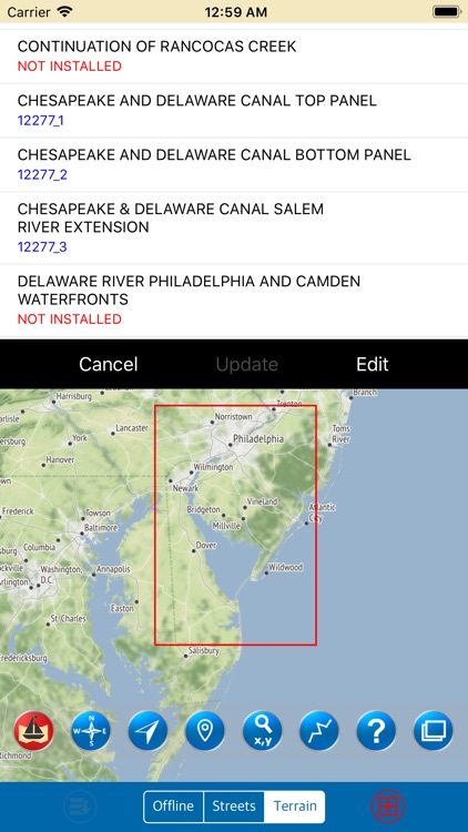 Delaware Bay – Marine Charts screenshot-0