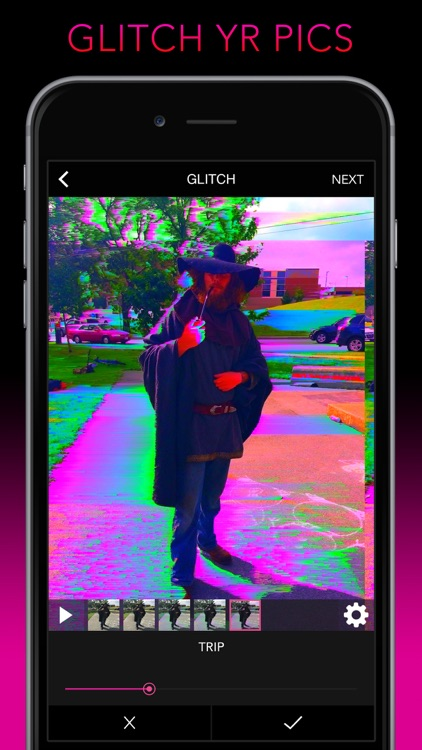 Glitch Wizard - Distort Photos to Trippy GIFs