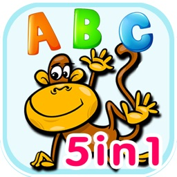 ABC animal flashcards alphabet