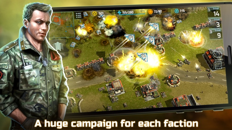 Art Of War 3:RTS Strategy Game screenshot-4