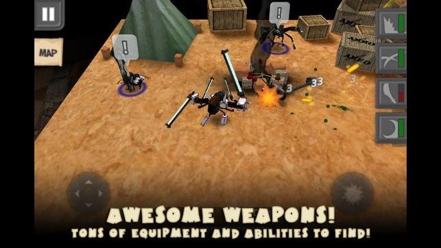 Bug Heroes Quest Screenshot