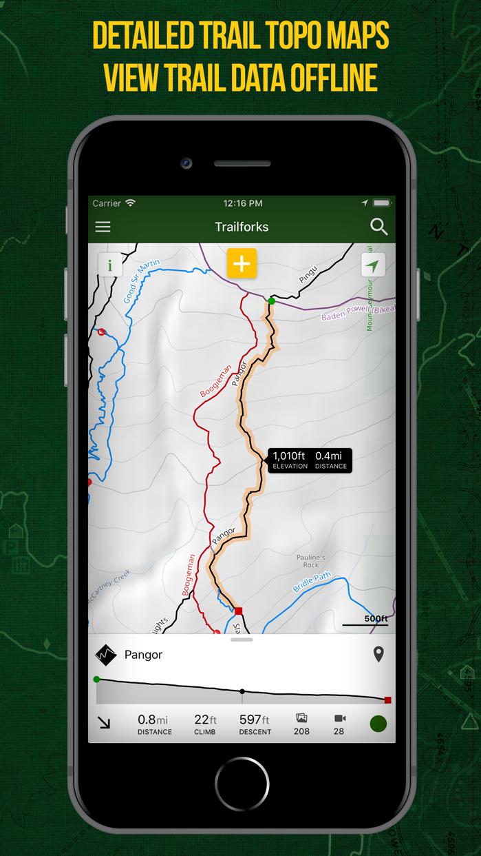Trailforks - Mountain Bike Map Screenshot