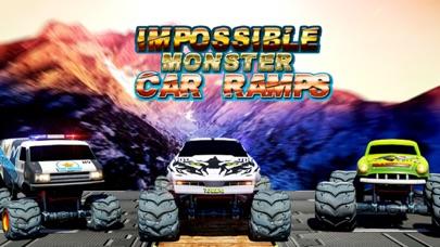 Impossible Monster Car Ramps Screenshot