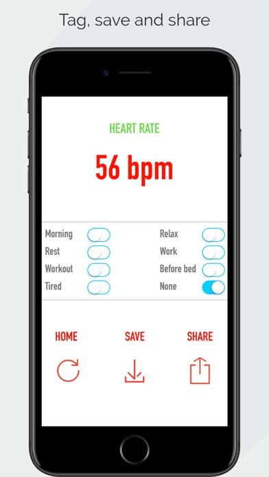 Screenshot #3 for Heart Rate Monitor - Pulse App Tracker