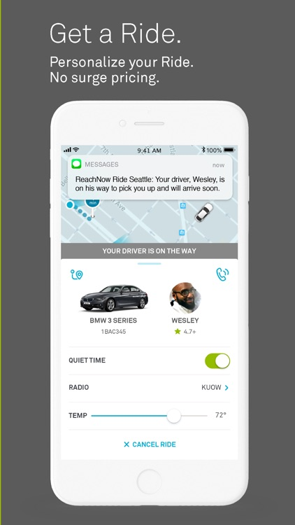 ReachNow-BMW Car & Ride Share screenshot-4