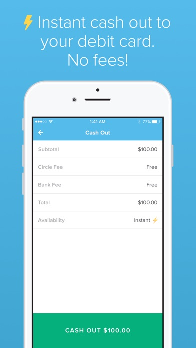 Screenshot for Circle Pay in United States App Store