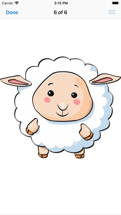 Lamb Sticker Pack screenshot-8