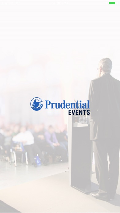 Prudential Events Screenshot