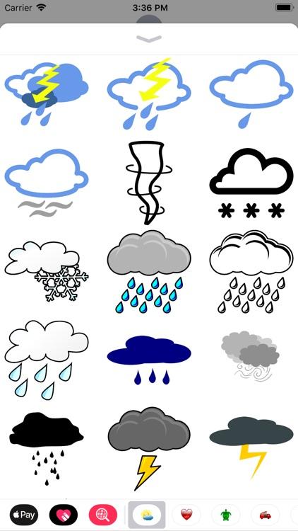 My Weather Sticker Pack