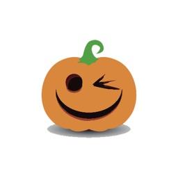 Pumpkin emoji for halloween