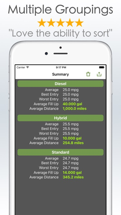gas mileage calculator and log app mobile apps tufnc