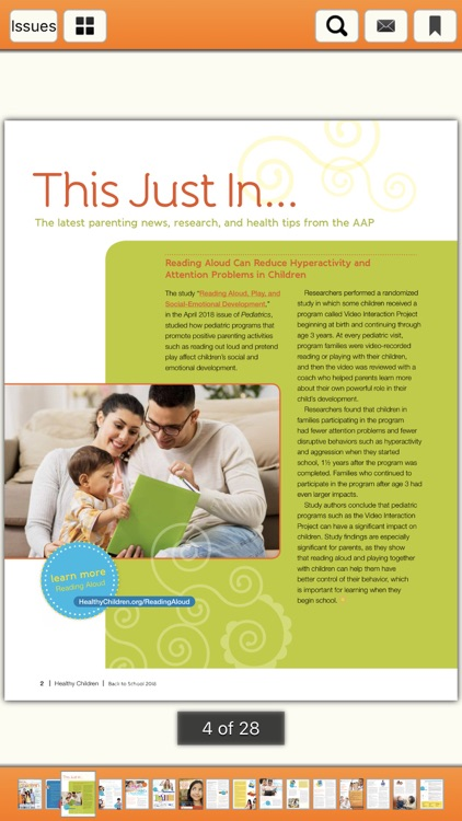 Healthy Children E-Magazine screenshot-3