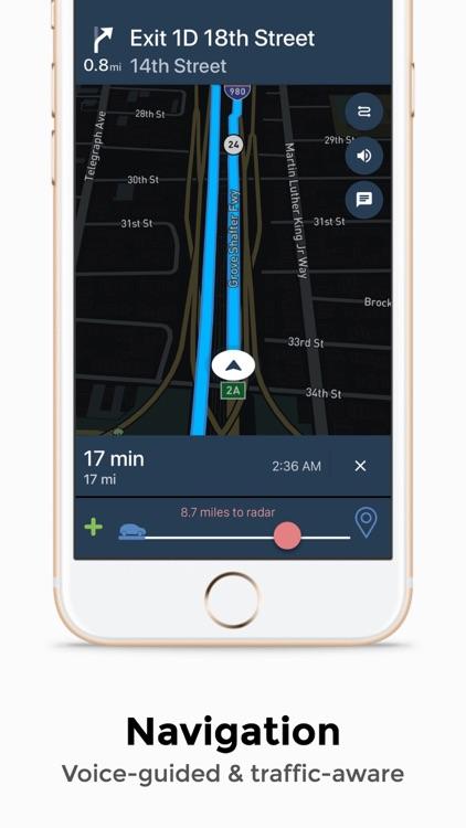 Copdrop - GPS & Live Radar Map
