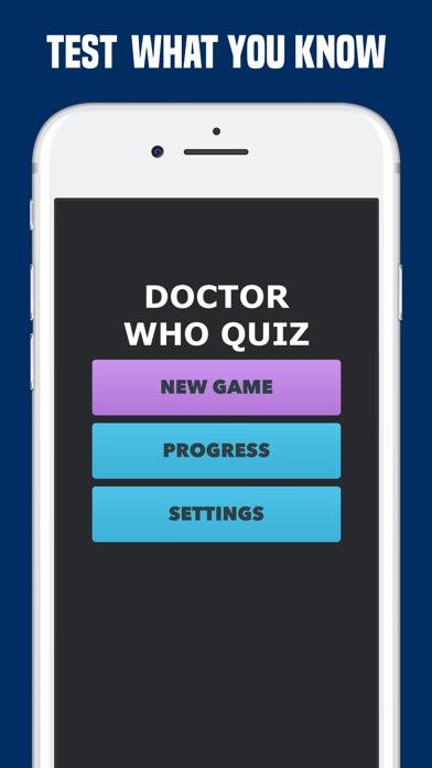 Quiz for Doctor Who Fan Trivia screenshot three