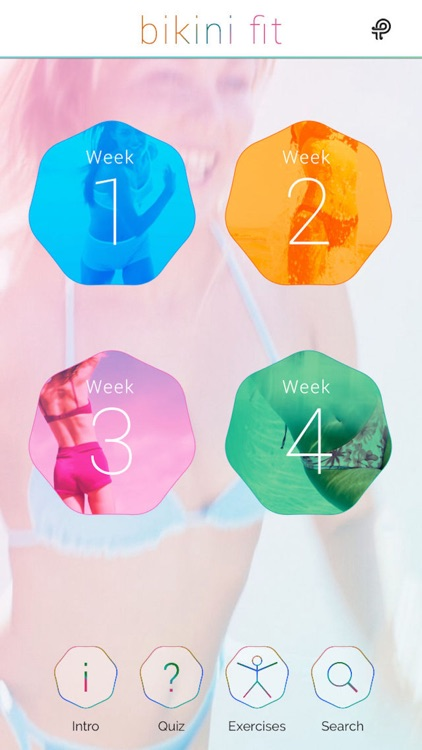 Bikini Fit: a 4 week plan for beach body fitness screenshot-0