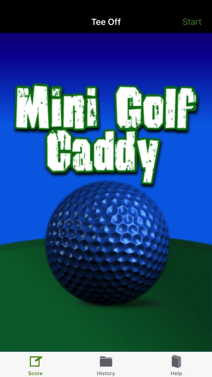 Mini Golf Caddy Lite