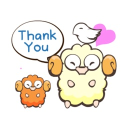 Lamb Llama Cute Animated Emoji