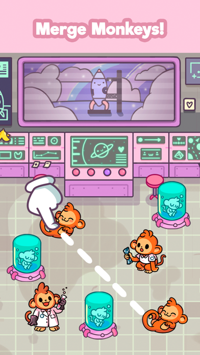 Monkeynauts: Merge Monkeys! screenshot 6
