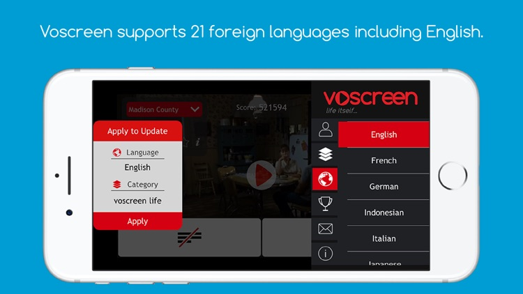 Voscreen - Learn English