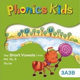 Phonics Kids教材3A3B -英语自然拼读王
