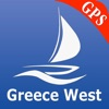 Greece West GPS Nautical Chart