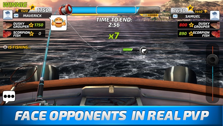 Fishing clash fish game 2017 by ten square games for Fishing games 2017