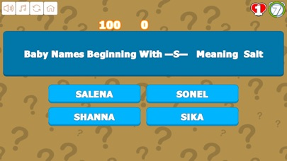 Quiz Your Baby Names R to Z screenshot 4