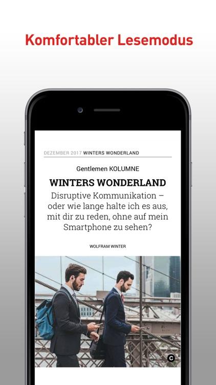 GQ Magazin (D) screenshot-3