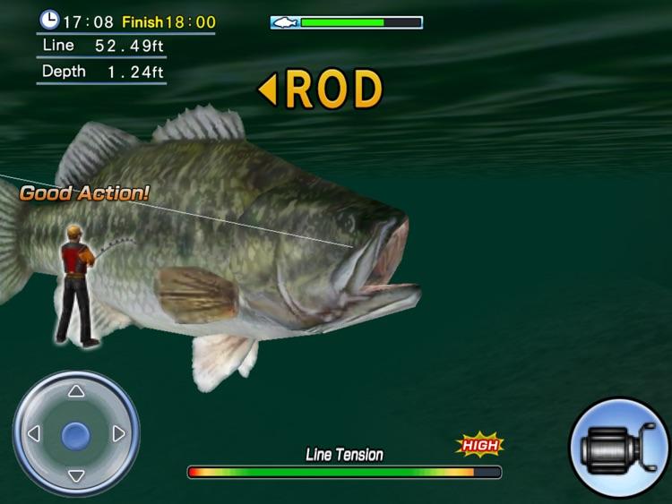 Bass Fishing 3D HD screenshot-4