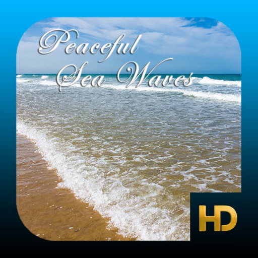 Peaceful Sea Waves HD