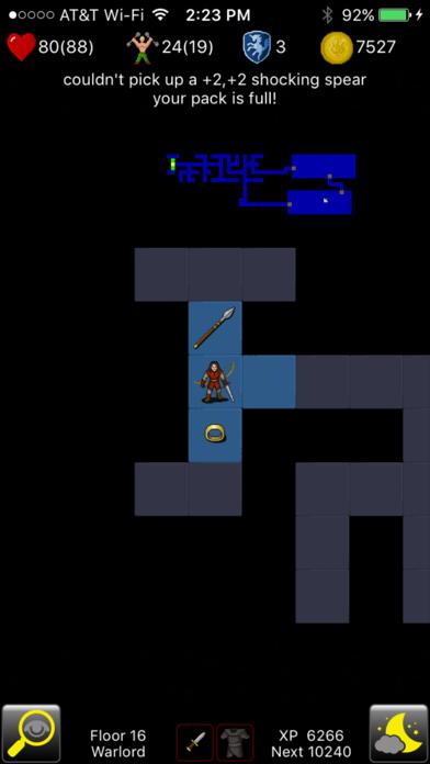 Rogue Touch screenshot three