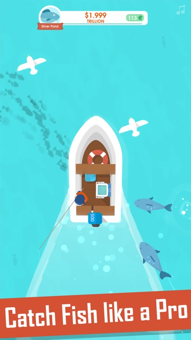 Hooked Inc: Fisher Tycoon screenshot 2