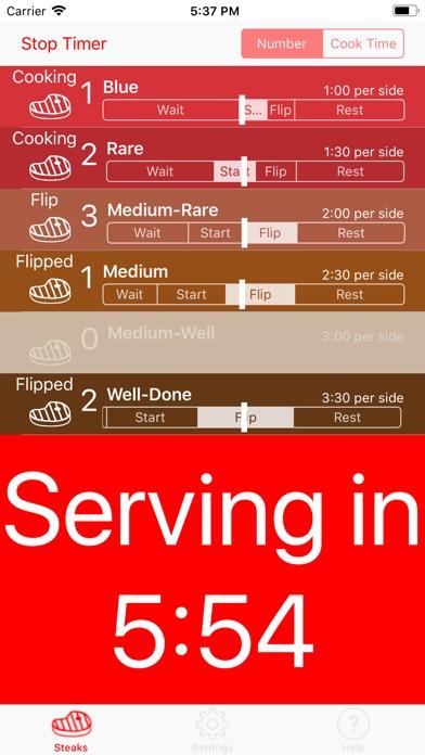 Screenshot for Steak Timer Pro in Germany App Store