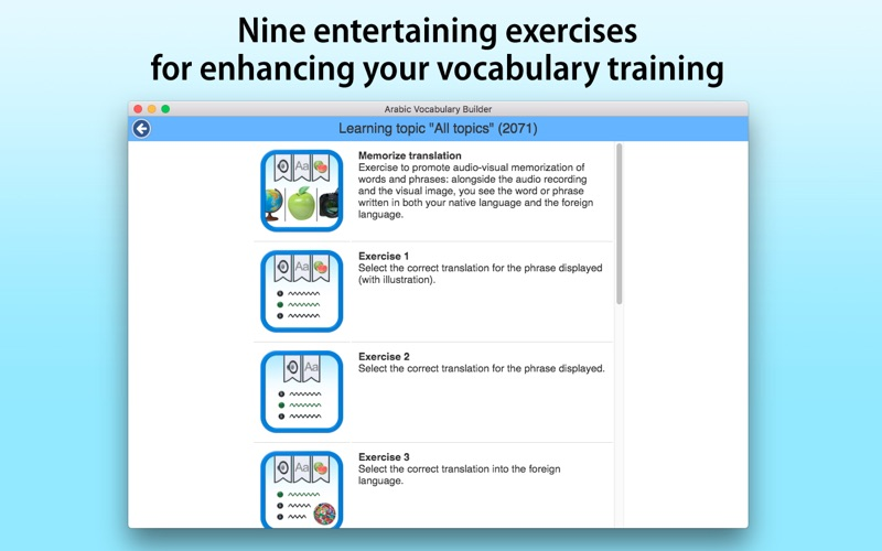 Arabic Vocabulary Builder screenshot 4