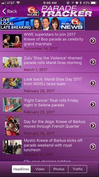 WDSU Parade Tracker - App Store revenue & download estimates